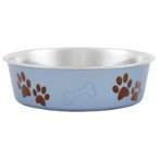 BOWL BLUEBERRY METALLIC - LARGE LPBOWLBLUEBERRYL