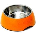 PET BOWL TIN (ORANGE) (300g) DAP011014MOG