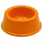 PET BOWL PLASTIC (ORANGE) (90g) DAP011018MOG