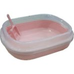 CAT LITTER PAN (PINK) DAP071001