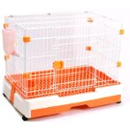 SMALL ANIMAL CAGES (ORANGE) (SMALL) JNB204