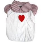 POLO - HEART (WHITE) (MEDIUM) DDY0T277M