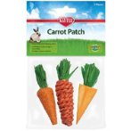 CARROT PATCH CHEW TOY 3pcs KT516388