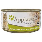 TIN MACKEREL WITH CHICKEN BREAST (CATS) 70g MPM01013