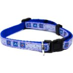 DOG COLLAR - HEART AND FLOWER (ASSORTED) (LARGE) BWDCHEARTNFLOWERL