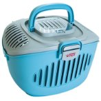 PAWS2GO CARRIER - GREY/BLUE LW60898