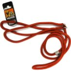 DOG LEASH ADJUSTABLE LOOP - ROPE (RED) (MEDIUM) BWNLN13ORDM