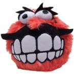 FLUFF GRINZ PLUSH TOY BALL (RED) (LARGE) RG0CGR05C