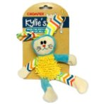 CHEVRON PLUCH BUNNY CAT TOY IDS0WB13516