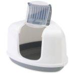 NESTOR CORNER LITTER PAN (WHITE/GREY) SV0200300WG