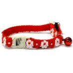 CAT COLLAR - LACY (RED) BWCCLACYRD