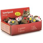 PLUSH MOUSE WITH RATTLE (ASSORTED) BT0440420