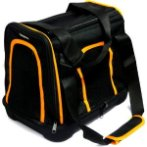 PET CARRIER (BLACK WITH ORANGE) (SMALL) SUN0DCC0124BS