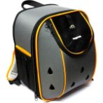 BACKPACK (GREY WITH ORANGE) SUN0DCC1514
