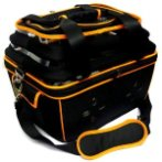 PET CARRIER (BLACK WITH ORANGE) SUN0DCC3028