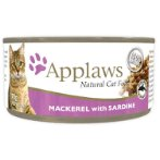 TIN MACKEREL WITH SARDINE (CATS) 70g MPM01015