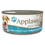 TIN TUNA FILLET WITH SARDINE & PUMPKIN (DOGS) 156g MPM03010