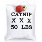 CANVAS SACK LOVE WITH CATNIP BT0620160