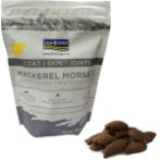 MACKEREL MORSELS WITH KRILL SKIN, COAT & JOINTS 225g F4DDMM770
