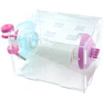 TRANSPARENT SMALL ANIMAL CAGE BWBES04