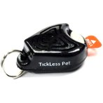 ULTRASONIC TICK&FLEA REPELLER FOR PETS (BLACK) INF0PRO10-103