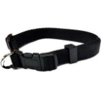 NYLON COLLAR (BLACK) (SMALL) BWNCN10KBKS