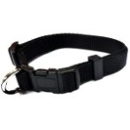 NYLON COLLAR (BLACK) (MEDIUM) BWNCN15KBKM