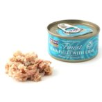 FINEST TUNA FILLET WITH CRAB 70g F4DCTW558