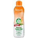 NATURAL FLEA & TICK MAX STRENGTH SHAMPOO 20oz TROP-FTMAX