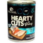 HEARTY CUTS GRAIN FREE WHITEFISH & SALMON 12.5oz WNCANCOREHCWS