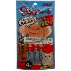 CHU RU WHITE MEAT TUNA WITH FIBER (HAIRBALL) 14g x4 sticks CIS101