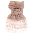 LACE DRESS (PINK) (EXTRA SMALL) (SIZE 8) BL0S5968