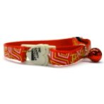 CAT COLLAR - GEOMETRY (RED) BWCC1603RD