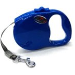 RETRACTABLE LEASH-CLASSIC (BLUE) (LARGE) (5m- up to 41kg) BWDG285LBU