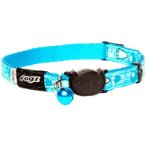 FANCY CAT COLLAR- BUBBLE FISH (TURQUOISE) (SMALL) RG0CB06N