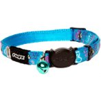 NEOCAT COLLAR- CANDY STRIPES (TURQUOISE) (SMALL) RG0CB41F