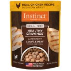 INSTINCT CRAVING - CHICKEN FOR DOGS (POUCH) 85g NV071001
