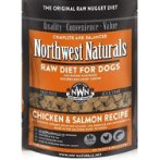 CHICKEN & SALMON RECIPE FREEZE DRIED NUGGETS 12oz NW101