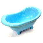 HAMSTER BATHTUB (BLUE) BWMH513BL
