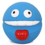 LATEX TOY - SMILEY (BLUE) YT96230