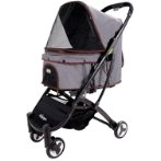 SPEEDY FOLD PET BUGGY (GRAY) BWIBIFS1670G