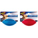 TEETHER FOOTBALL RED/BLUE LARGE 5