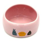 SMALL ANIMAL FOODBOWL (PINK) (MEDIUM) BWMB02PK