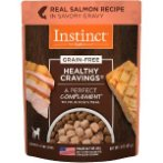 INSTINCT CRAVING- SALMON FOR DOGS (POUCH) 85g NV071020