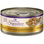 SIGNATURE SELECTS CHUNKY CHICKEN & TURKEY IN SAUCE FOR CATS 5.3oz WN-CCSSCCT