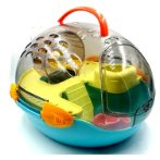 SPACE SHIP SMALL ANIMAL CARRIER (BLUE) (SET) BW730