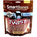 SMARTBONES TWIST STICKS PEANUT BUTTER 50pcs SBTT-02943