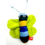 CATNIP TOY - BUTTERFLY (GREEN) BWAT2703