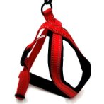 REFLECTIVE DOG HARNESS (RED) (LARGE) BWDH1733RDL
