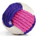 KNOTTED SISAL BALL WITH CATNIP BT0422032